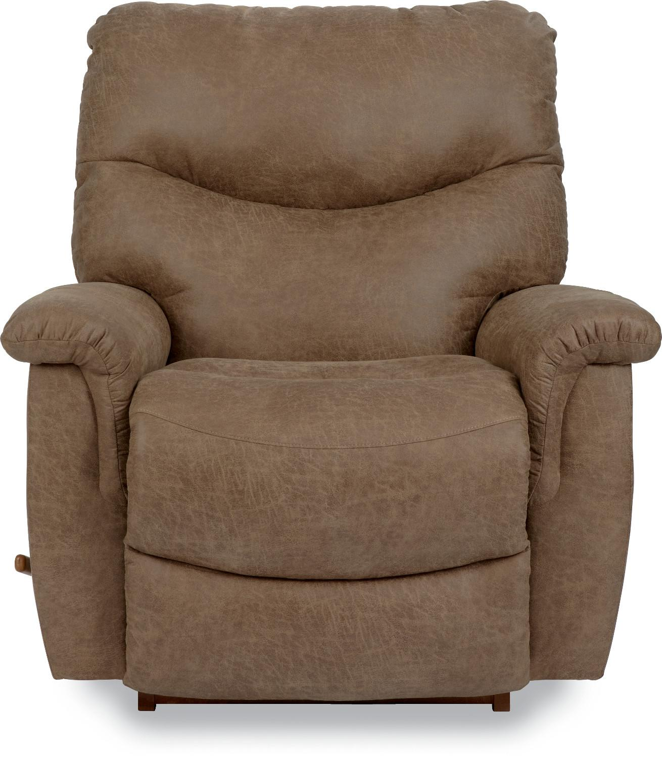 Faux Leather Casual RECLINA-ROCKER® Recliner