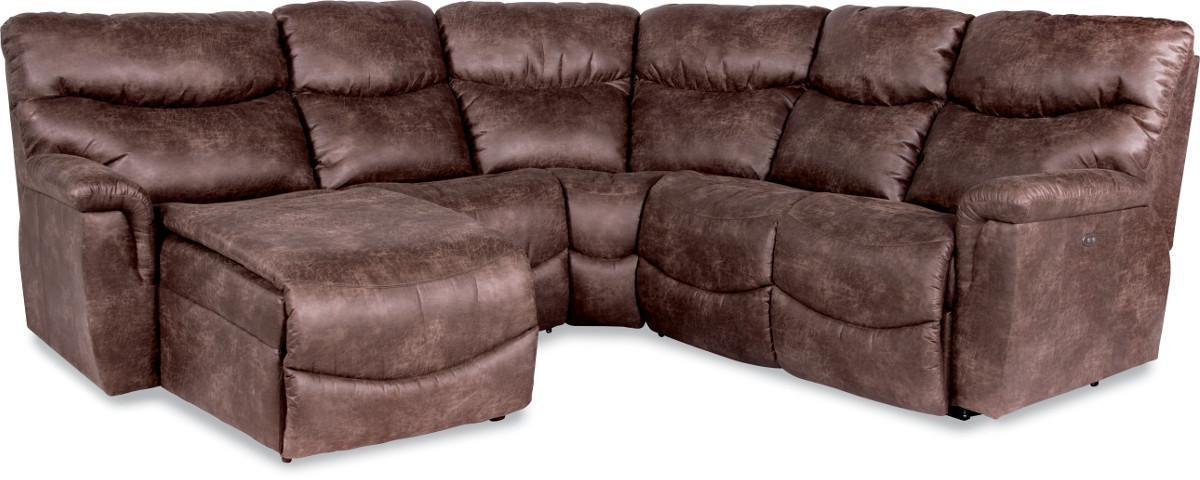la z boy leather sectional