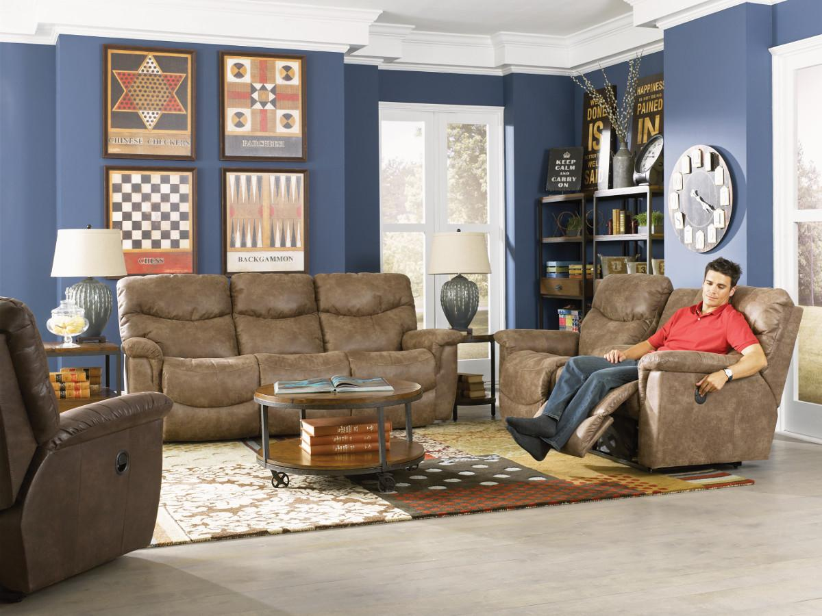 Faux Leather La-Z-Time® Full Reclining Sofa & Faux Leather La-Z-Time® Full Reclining Sofa by La-Z-Boy | Wolf and ... islam-shia.org