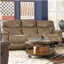 Faux Leather La-Z-Time® Full Reclining Sofa