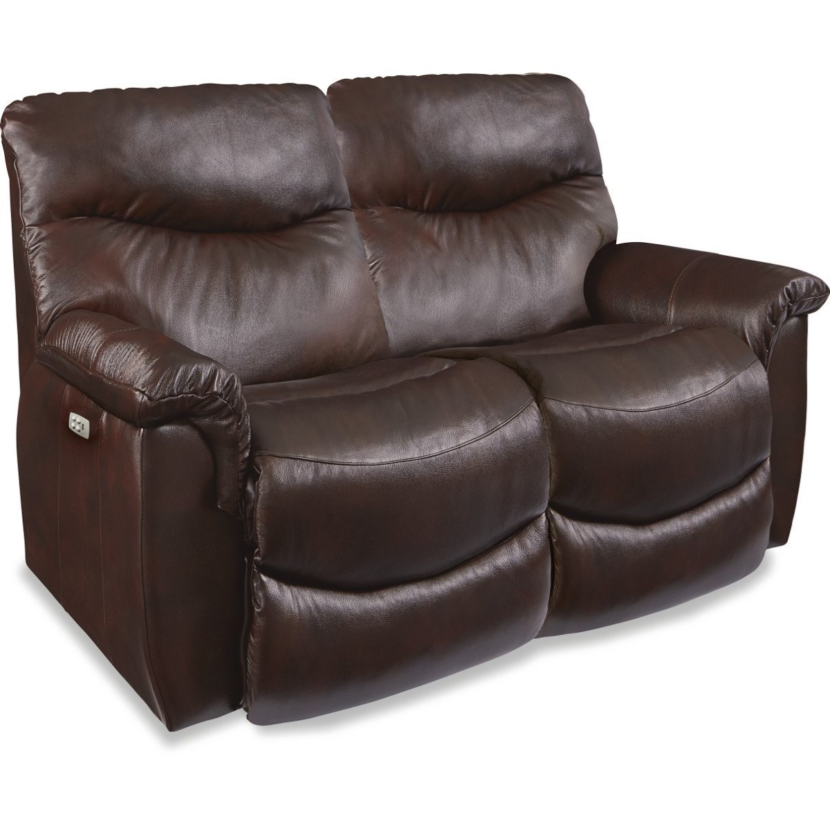 Casual Power La-Z-Time® Full Reclining Loveseat with Power Headrests