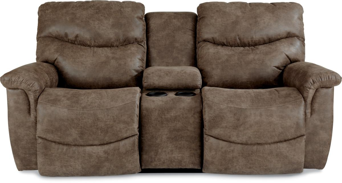 Lazy Boy Reclining Sofa With Console Refil Sofa