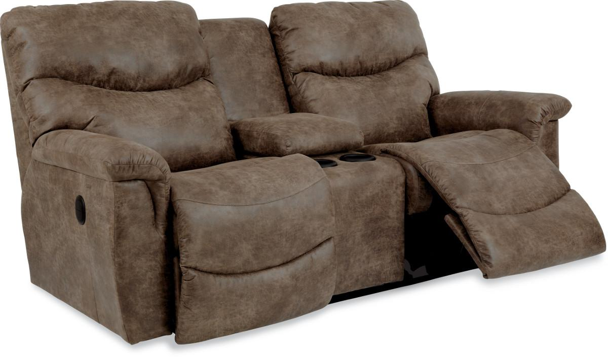 Full Reclining Loveseat with Middle Console  sc 1 st  Wolf Furniture & Casual Power La-Z-Time? Full Reclining Loveseat with Middle ... islam-shia.org