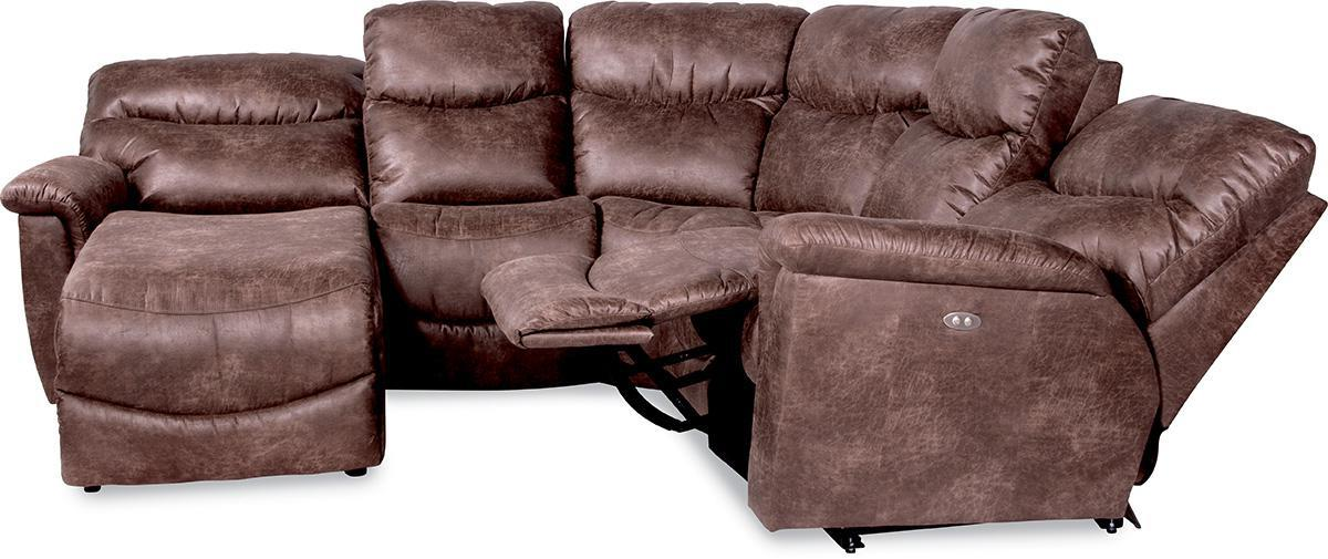 Four piece power reclining sectional sofa with ras for 4 piece sectional sofa with chaise