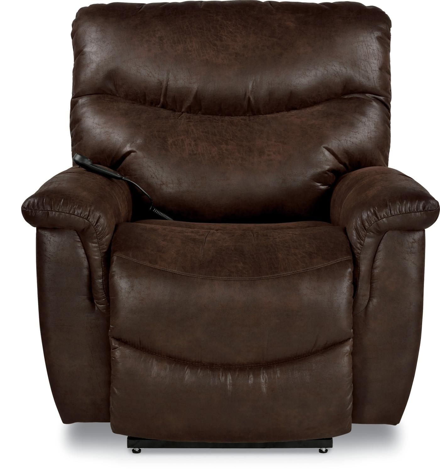 Casual Silver Luxury Lift® Power Recliner