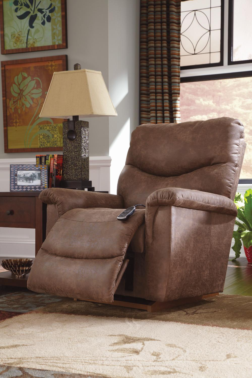 Faux Leather Casual Power-Recline-XR RECLINA-ROCKER® Recliner & Faux Leather La-Z-Time® Full Reclining Sofa by La-Z-Boy | Wolf and ... islam-shia.org