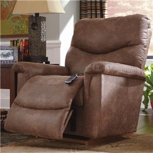 Faux Leather Casual Power-Recline-XR RECLINA-ROCKER® Recliner
