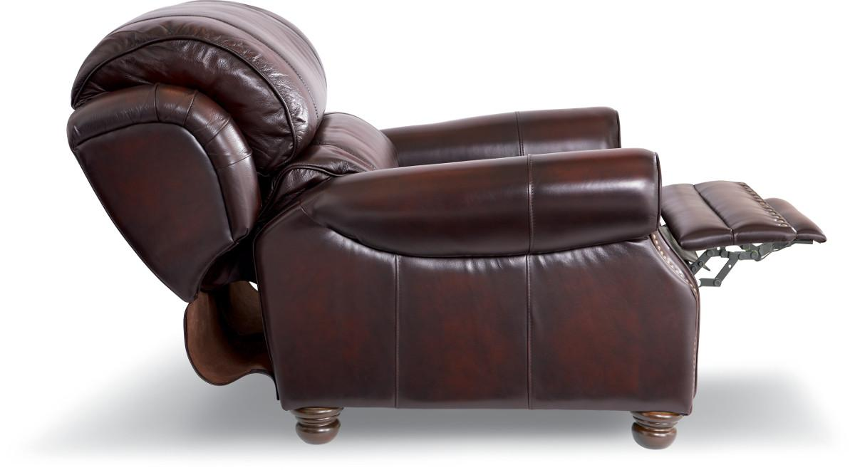 Traditional High Leg Leather Recliner by La-Z-Boy | Wolf ...