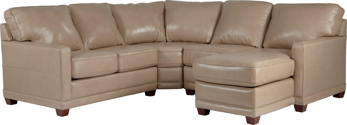 Transitional Sectional Sofa with LAS Chaise