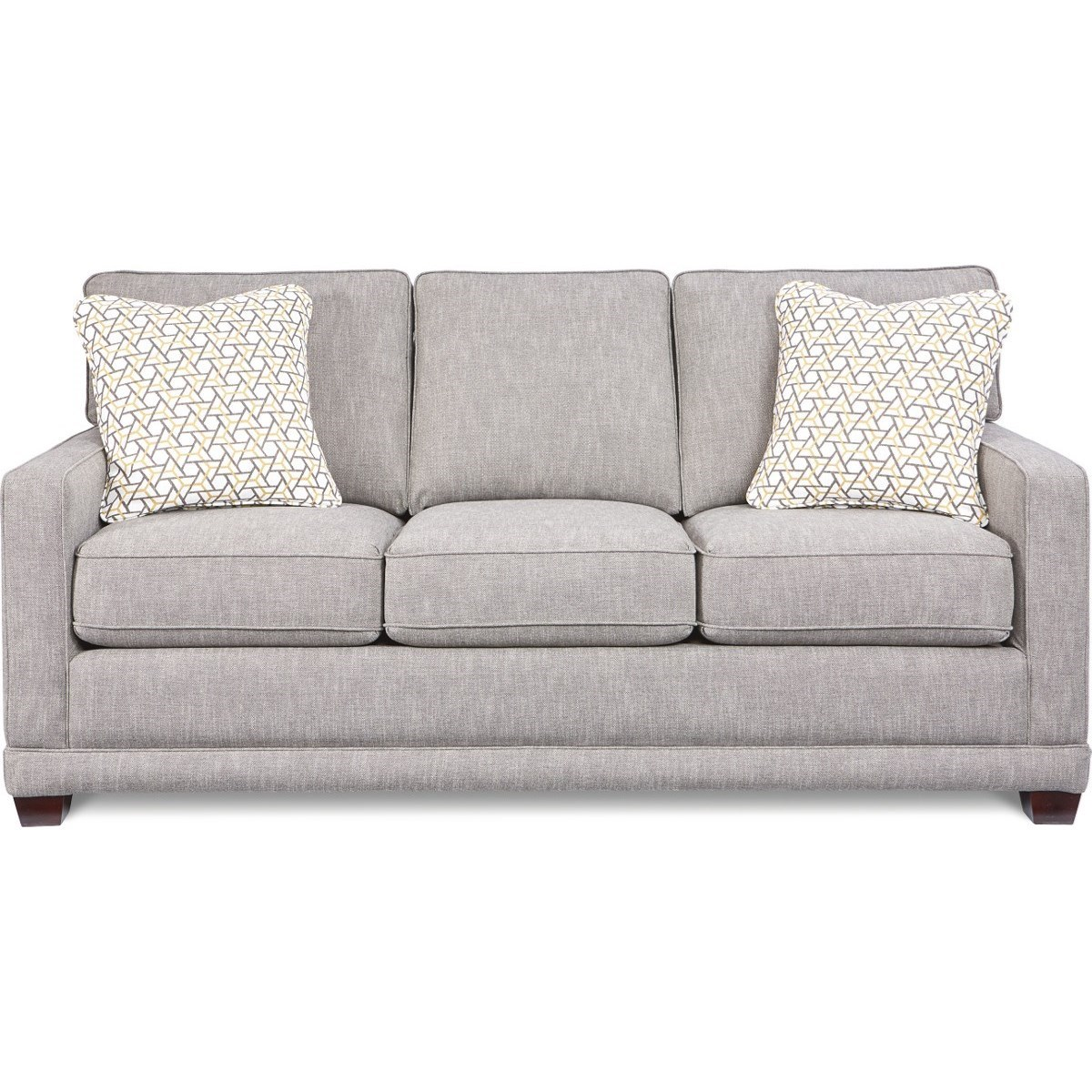 Transitional SUPREME-COMFORT™ Queen Sleep Sofa