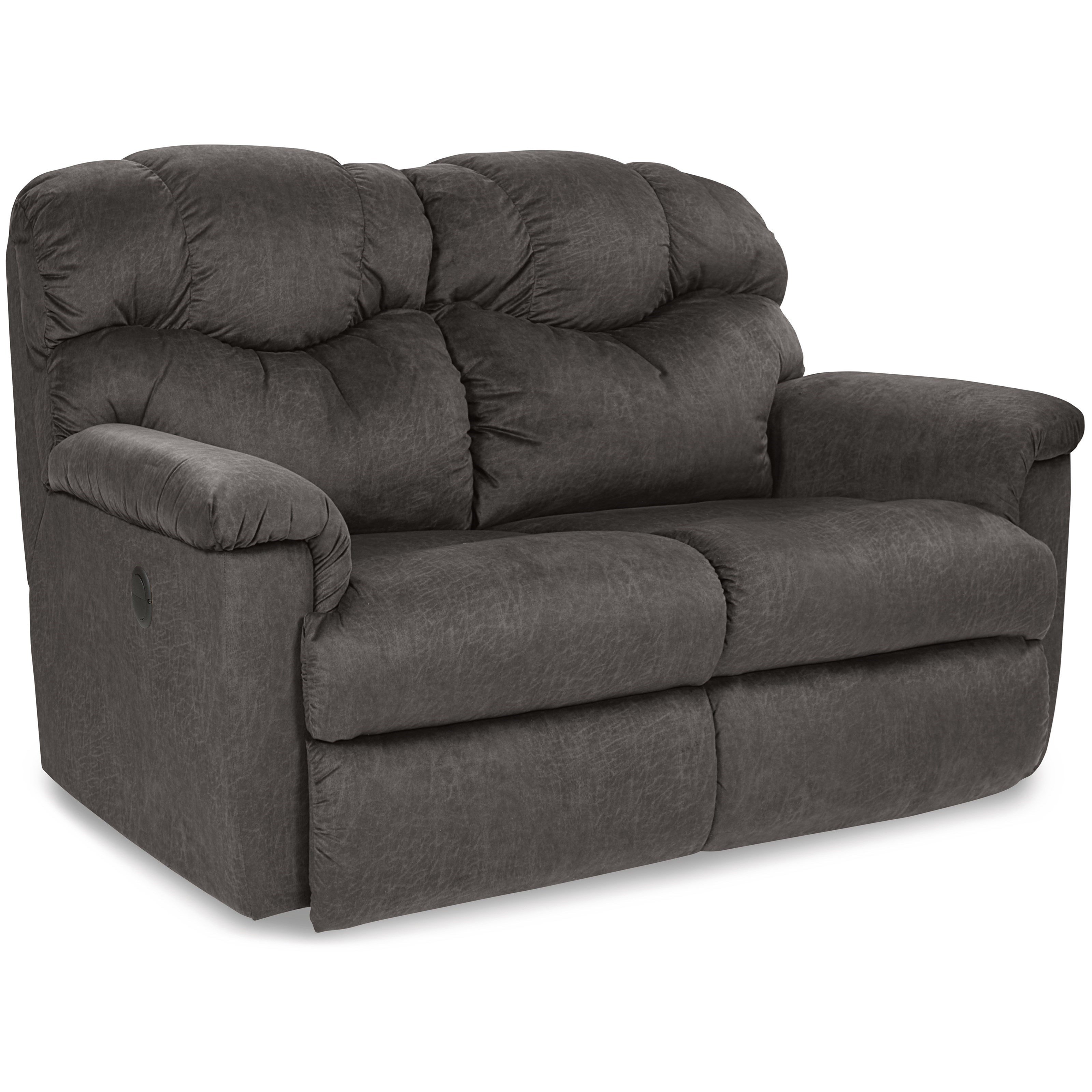 La-Z-Time® Power-Recline™ Reclining Loveseat with Power Headrests and USB Charging Ports