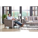 Duo Reclining Chair and a Half