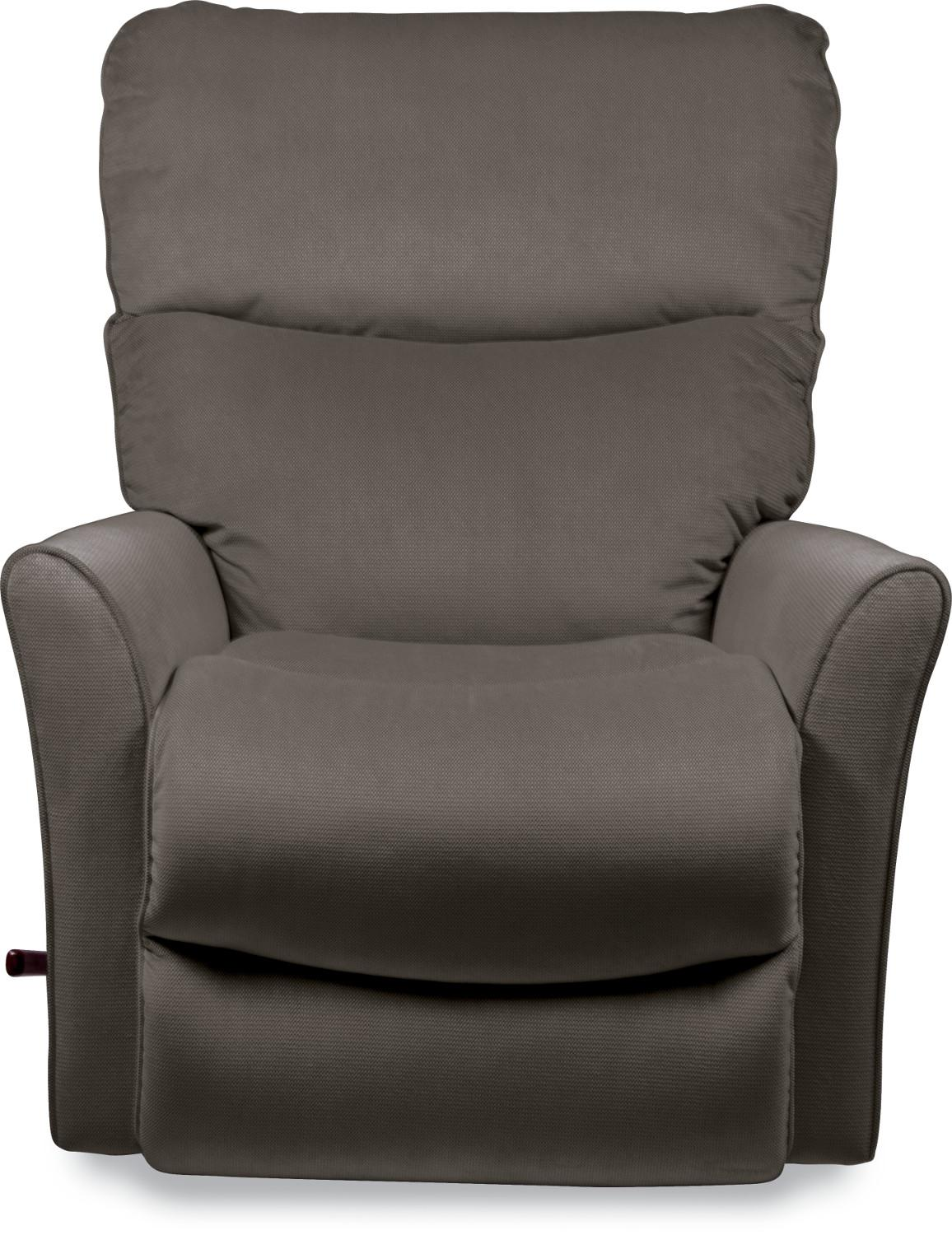 Small Scale Reclina Rocker 174 Recliner With Flared Arms By