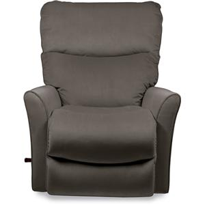 Small Scale RECLINA-ROCKER® Recliner with Flared Arms