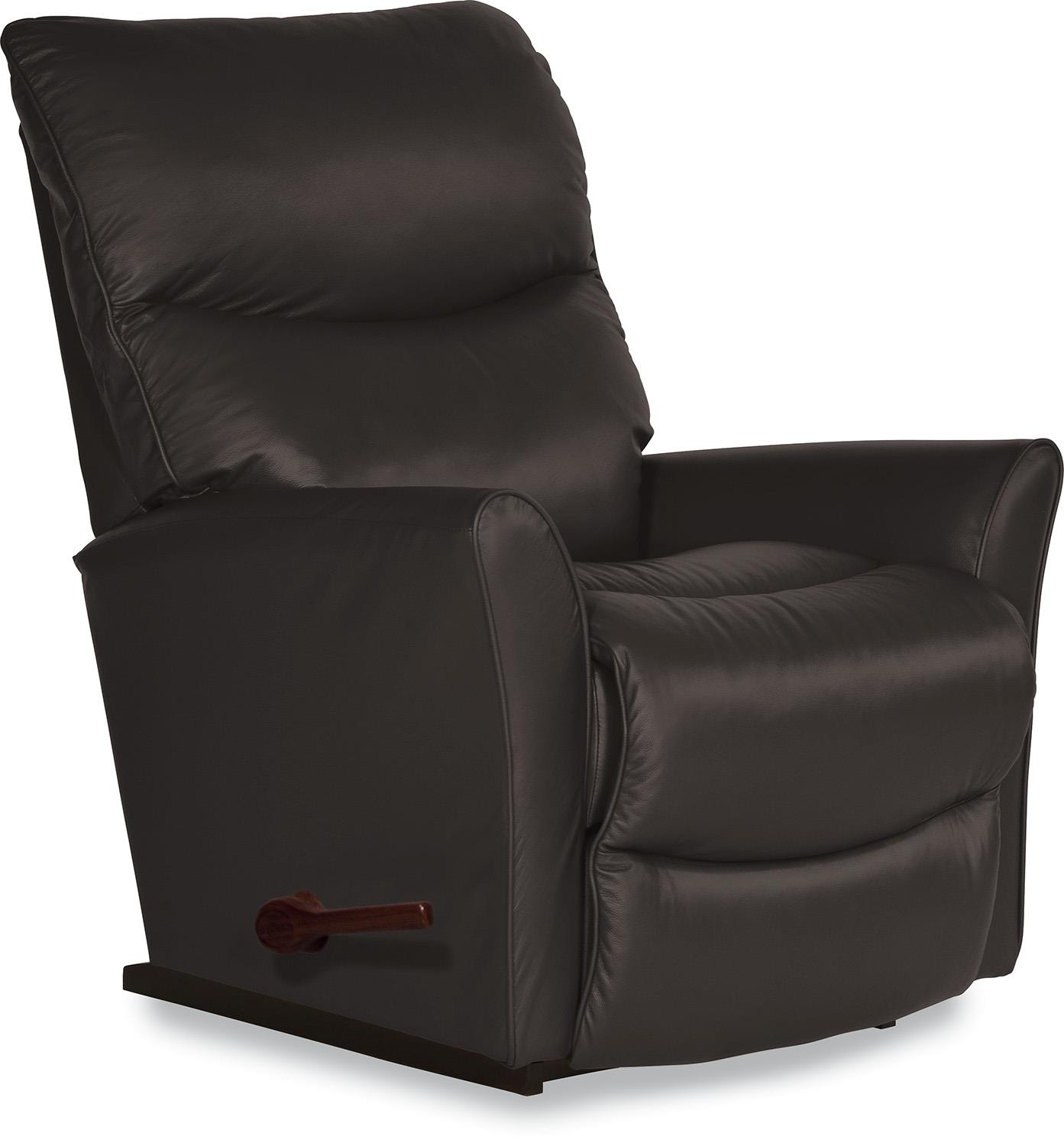 Rowan Small Scale RECLINA-ROCKER® Recliner with Flared Arms