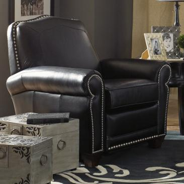 Faris Recliner Low Profile Recliner Leather Recliner By
