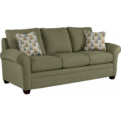 Sofa with Curved Rolled Arms