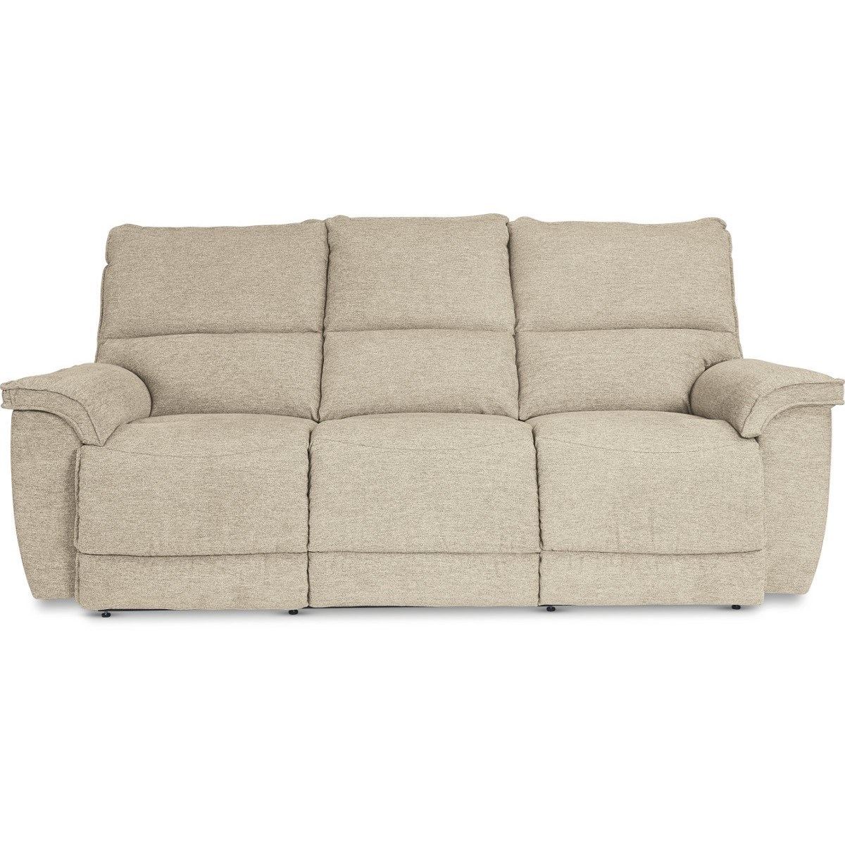 Casual Power Reclining Sofa with USB Charging Ports and Power Tilt Headrests