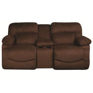 La-Z-Boy Oliver Oliver Reclining Loveseat with Console