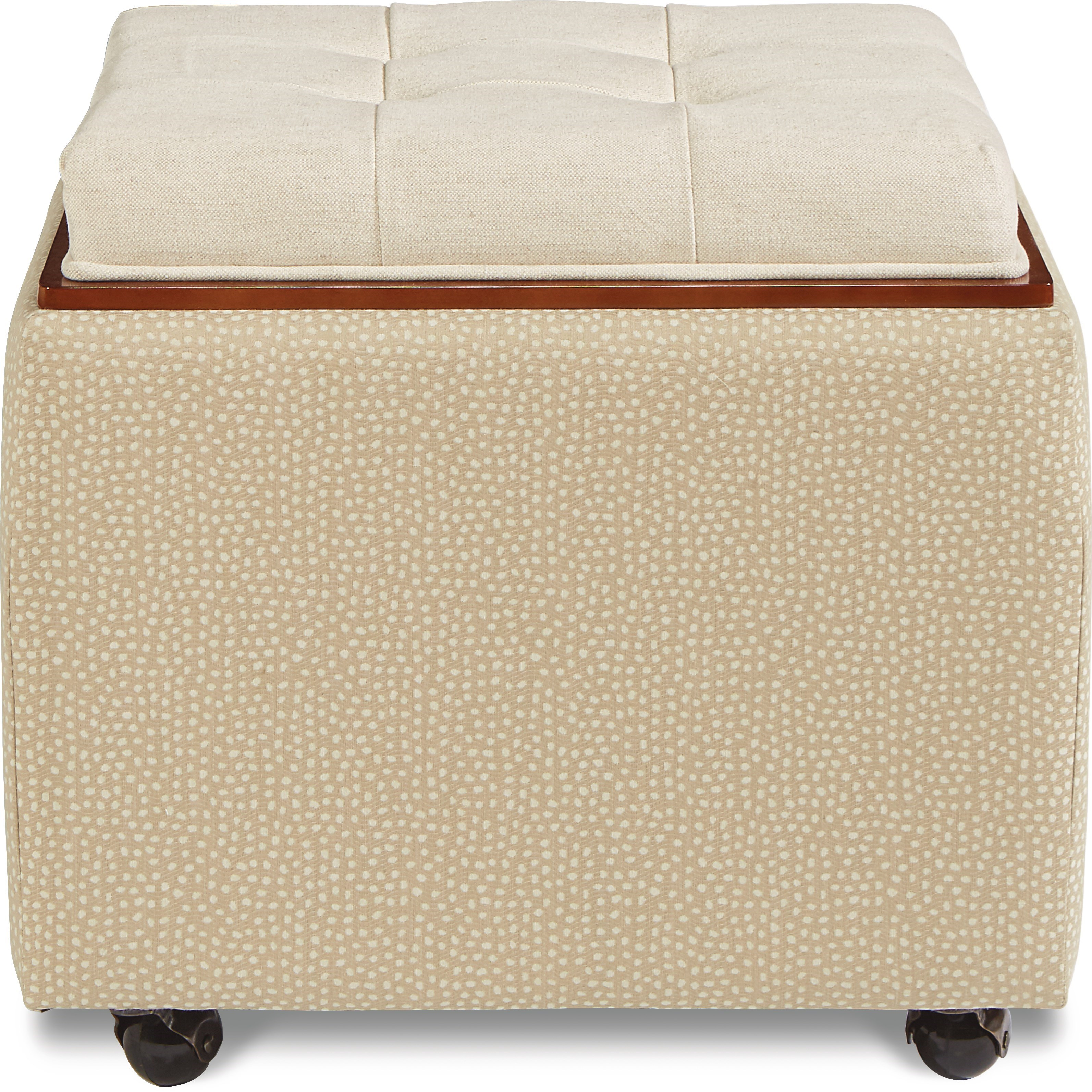 Leo Ottoman with Reversible Top