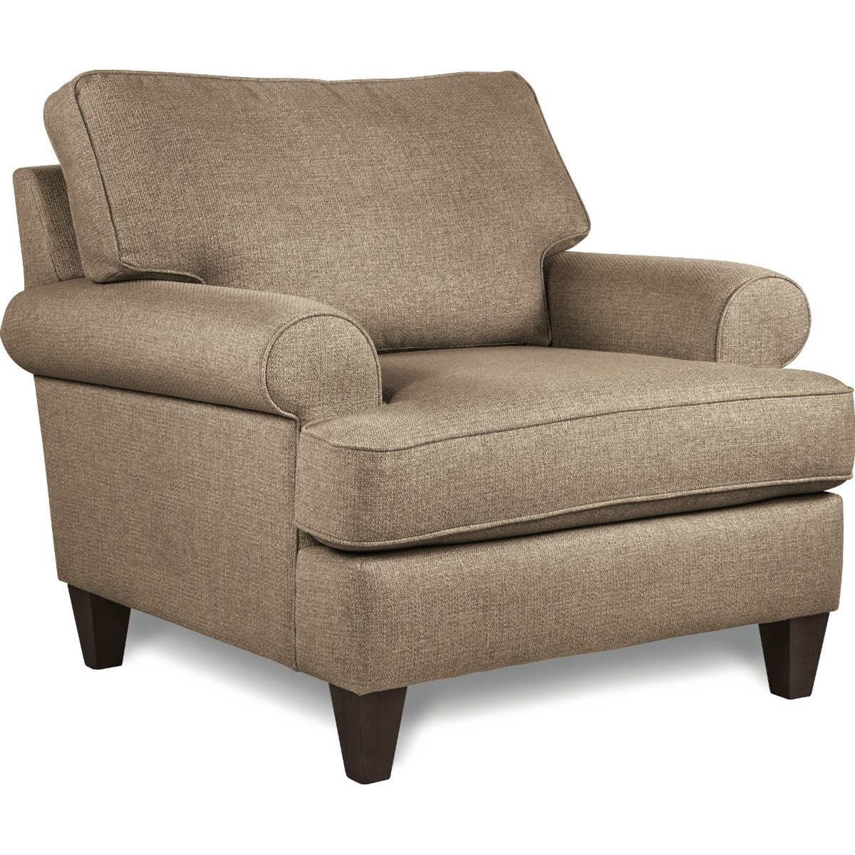 Transitional Chair with Premier ComfortCore Seat Cushion