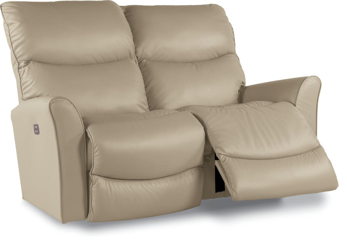 Contemporary Power Recline Xrw Full Reclining Loveseat With Wall Saver Mechansim By La Z Boy
