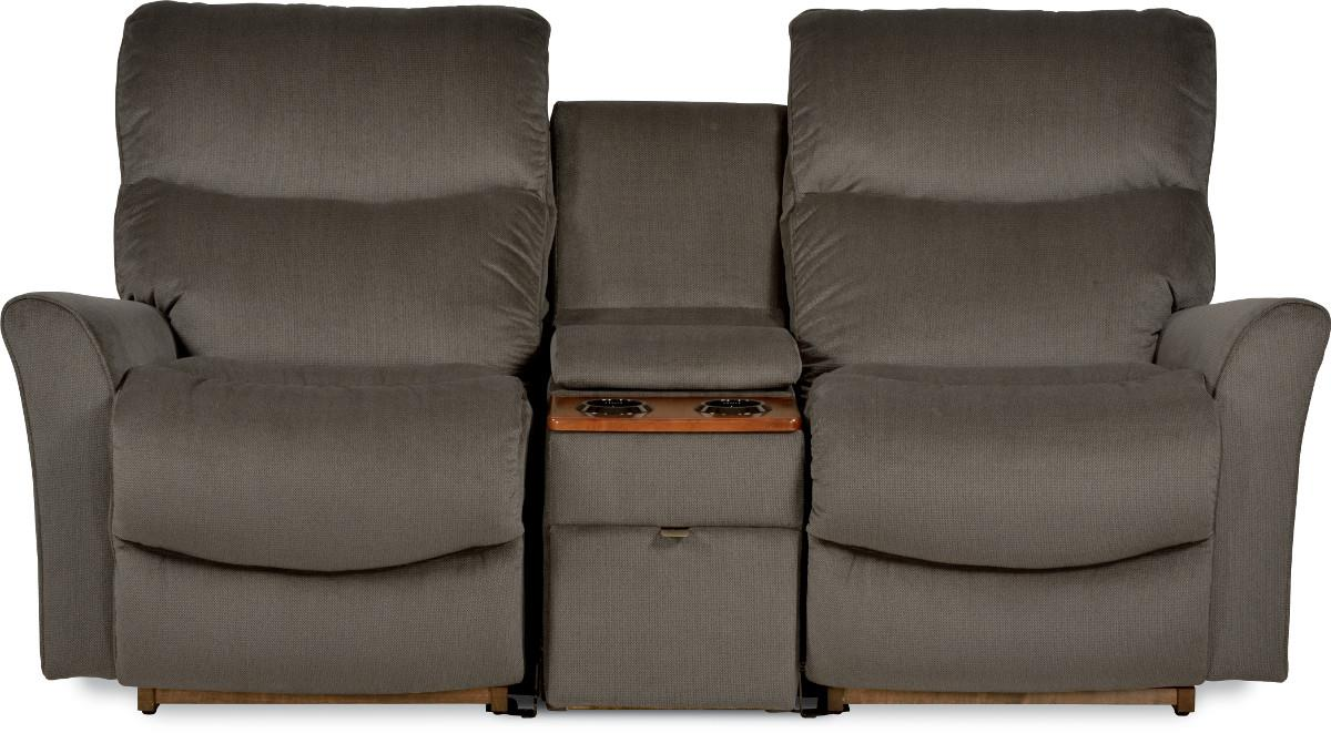 Three Piece Contemporary Power Reclining Loveseat With