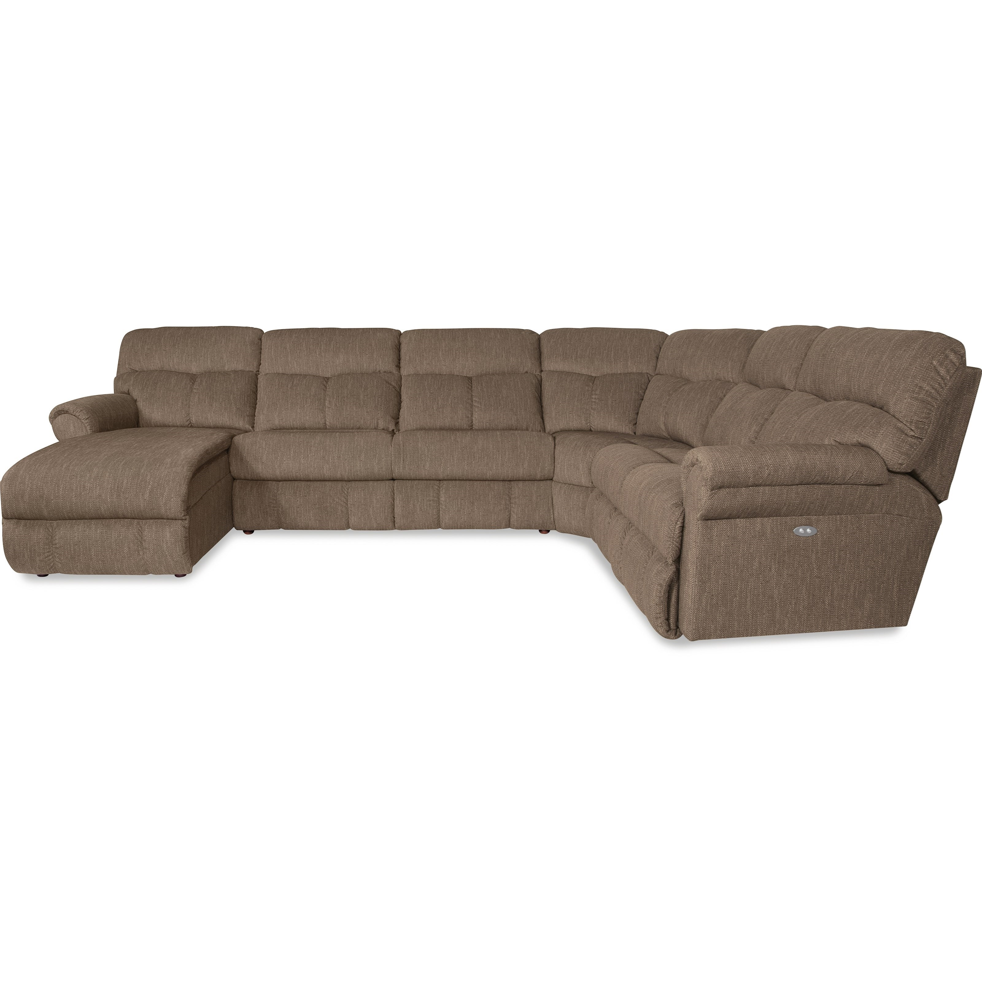 Casual four piece reclining sectional with laf reclining for 4 piece sectional sofa with chaise