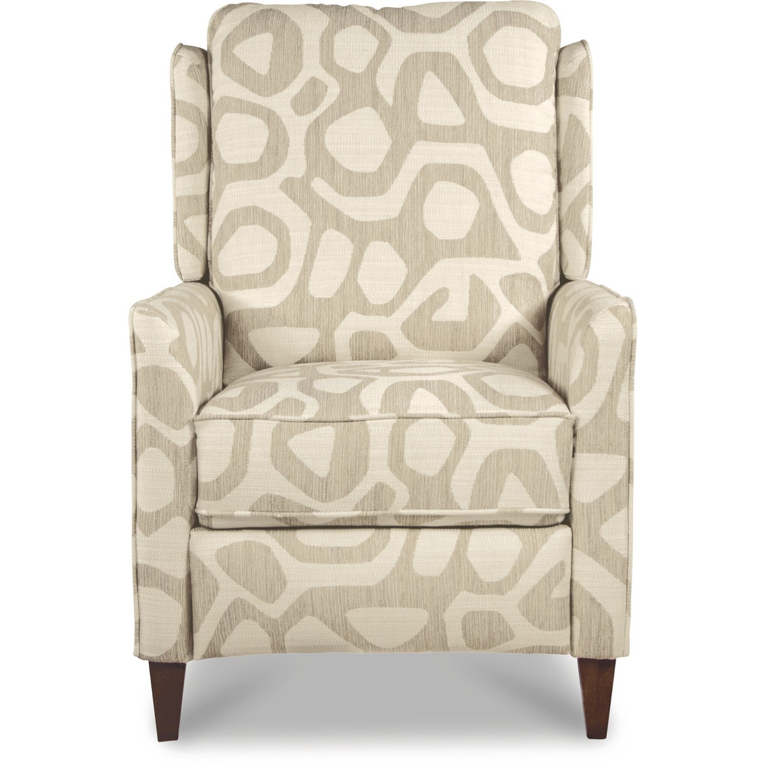 Contemporary Push Back Reclining Chair
