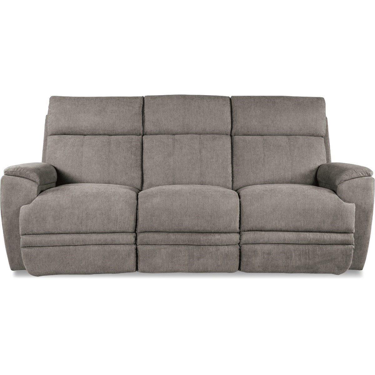 Casual Power Reclining Sofa with USB Charging Ports and Power Headrest / Lumbar