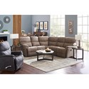 3 Pc Reclining Corner Sectional Sofa