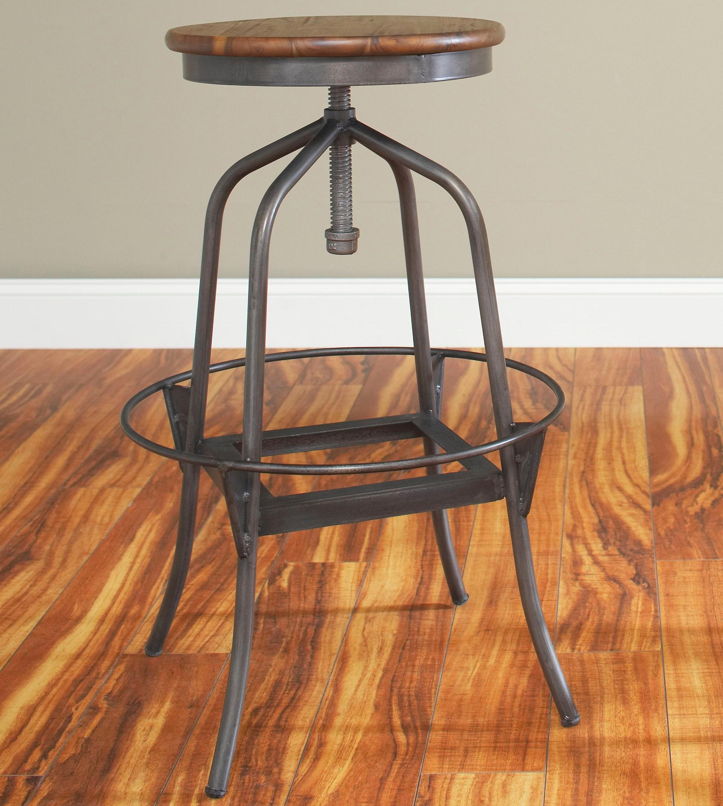 Backless Swivel Bar Stools Home Decor