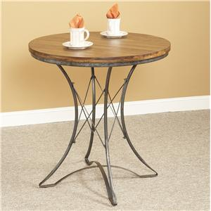 Largo Abbey Round Pedestal Counter Table