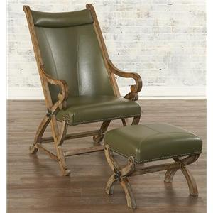 Largo Hunter Hunter Chair and Ottoman