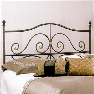 Largo Metal Beds  Queen Camden Headboard