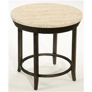 LaurelHouse Designs Calabria Round End Table