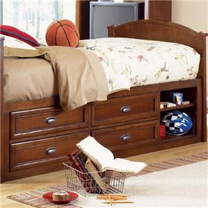 Morris Home Furnishings Deer Park Captain's Bed Box