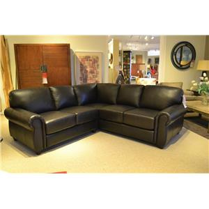 Leather Italia USA Amherst Sectional