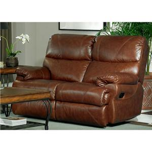 Leather Italia USA Baker Reclining Love Seat