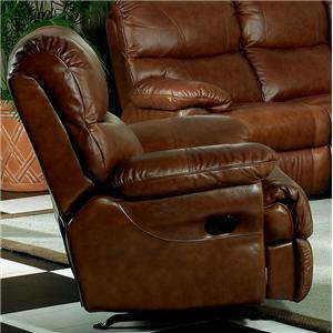 Leather Italia USA Baker Rocker Recliner