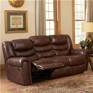 Leather Italia USA Kyle  Power Reclining Sofa