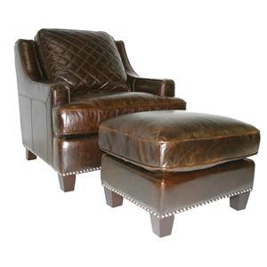 Vendor 1919 Provo Chair & Ottoman Set