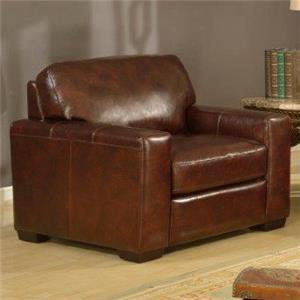 Leather Italia USA Woodburn Chair