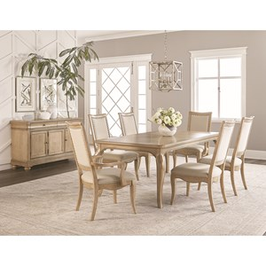 Dining Room Group with Credenza