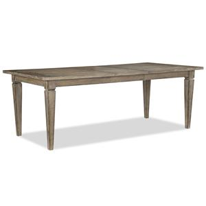 Legacy Classic Brownstone Village Rectangular Leg Table