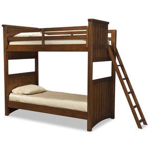 Legacy Classic Kids Dawson's Ridge Twin-over-Twin Bunk w/ Ladder