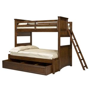 Legacy Classic Kids Dawson's Ridge Twin-over-Full Bunk w/ Trundle