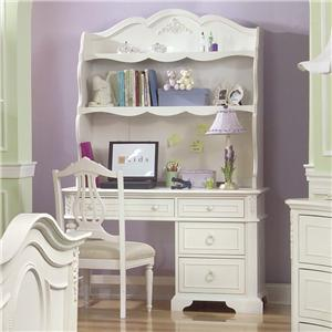 Legacy Classic Kids Enchantment Youth Desk Hutch and Chair