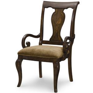 Legacy Classic Irving Park Splat Back Arm Chair