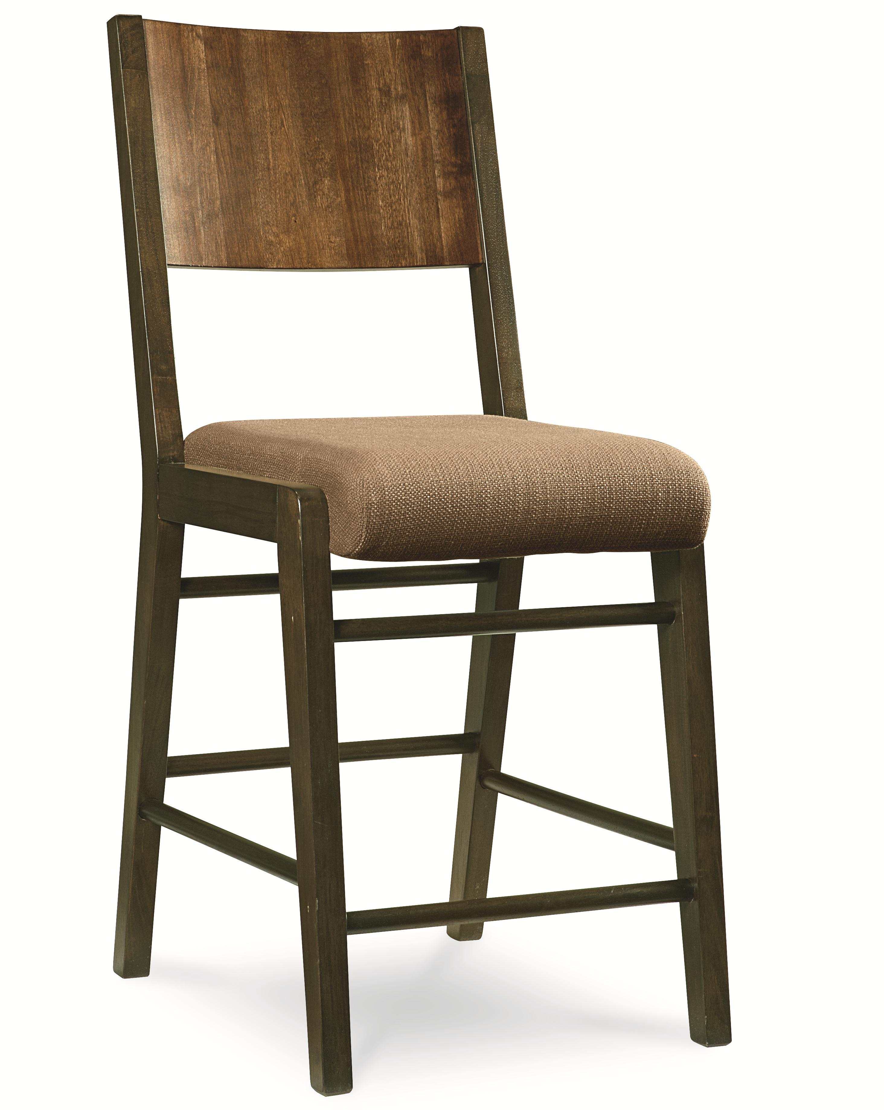 Amazing Pub Chair With Upholstered Seat